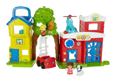 Fisher-Price Little People Animal Rescue Playset