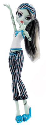 Monster High Doll Dead Tired Frankie Stein