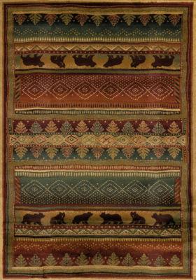 United Weavers Genesis Collection Bearwalk Rectangular Rug