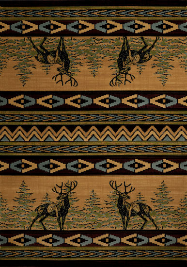United Weavers Contours Carleo Entertainment Management Collection Mule Deer Rectangular Rug