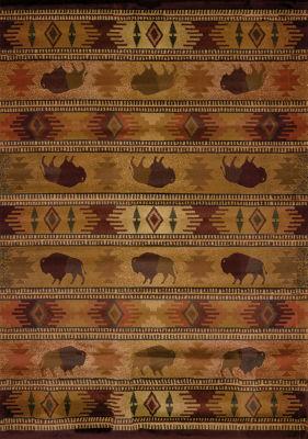 United Weavers Genesis Collection Tatonka Rectangular Rug