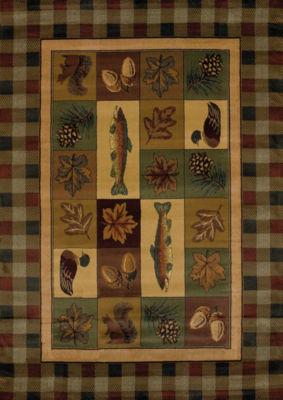 United Weavers Genesis Collection Timberland Rectangular Rug