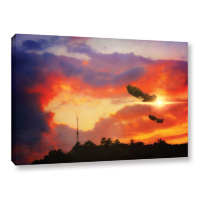 Brushstone Eve of War Gallery Wrapped Canvas WallArt
