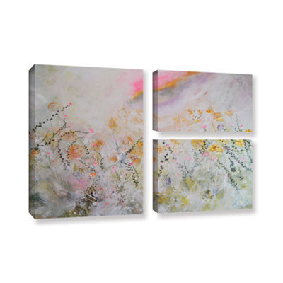 Brushstone Secret Garden 3-pc. Flag Gallery Wrapped Canvas Wall Art