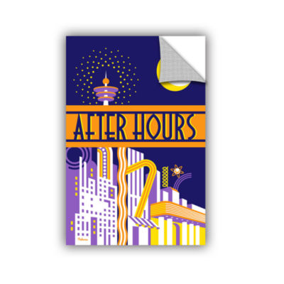 Brushstone After Hours Removable Wall Decal