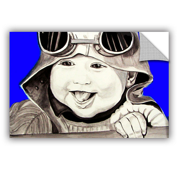 Brushstone Baby Pilot Removable Wall Decal