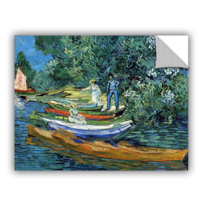 Brushstone Bank of the Oise at Auver Removable Wall Decal