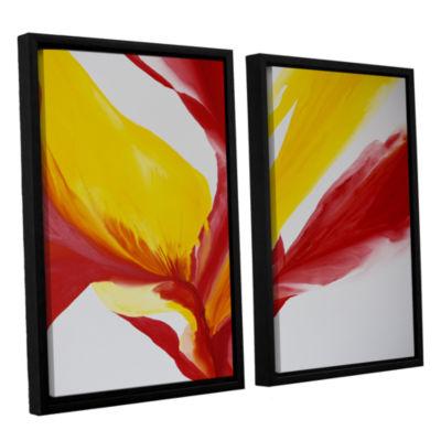 Brushstone Brimming II 2-pc. Floater Framed CanvasWall Art