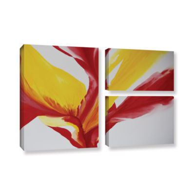 Brushstone Brimming II 3-pc. Flag Gallery WrappedCanvas Wall Art