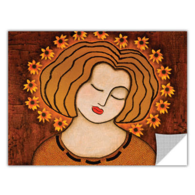 Brushtone Flowering Intuition Removable Wall Decal