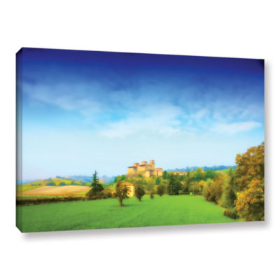 Brushstone Italian Castle Gallery Wrapped Canvas Wall Art
