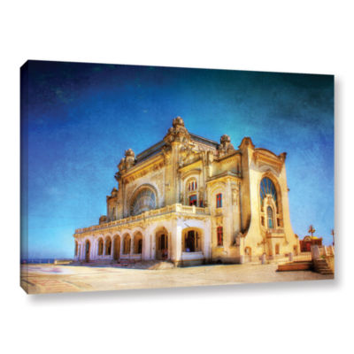 Brushstone Casino in Ruins Gallery Wrapped CanvasWall Art