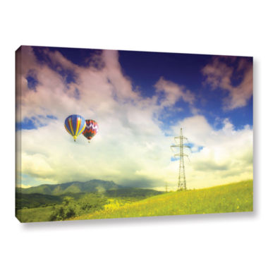 Brushstone Duo Magic Gallery Wrapped Canvas Wall Art