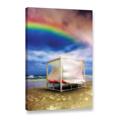 Brushstone Storm After Rainbows Gallery Wrapped Canvas Wall Art