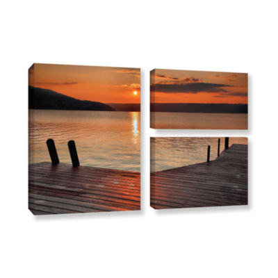 Brushstone Another Kekua Sunrise 3-pc. Flag Gallery Wrapped Canvas Wall Art