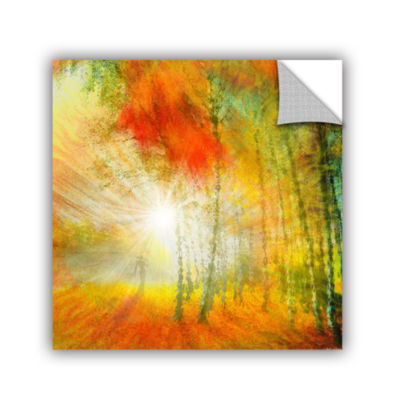 Brushstone Autumn Colours Removable Wall Decal