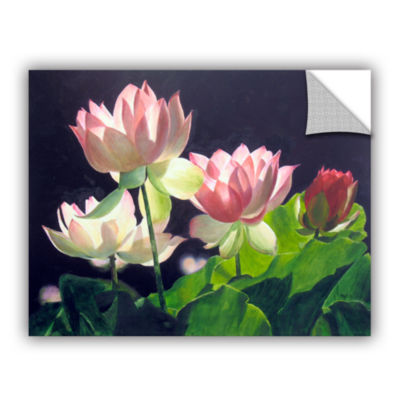 Brushstone Andrea's Lilies Removable Wall Decal