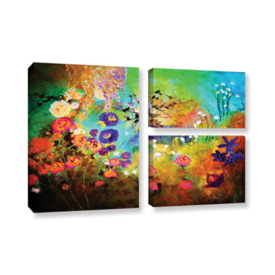 Brushstone The Beauty Of Silence 3-pc. Flag Gallery Wrapped Canvas Wall Art