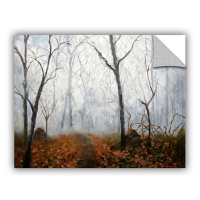 Brushstone Autumn Mist Removable Wall Decal