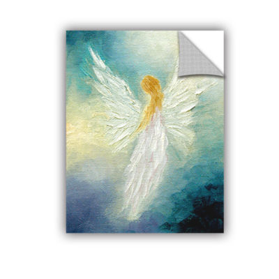 Brushstone Angel Removable Wall Decal