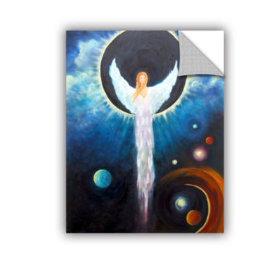 Brushstone Angel Of The Eclipse Removable Wall Decal