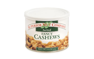 Superior Nut Whole Cashews 8oz 12 Count