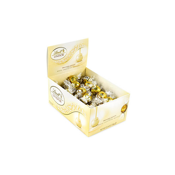 Lindt Truffles White Chocolate 60 Count