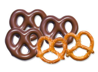 Milk Chocolate Pretzels 10lb