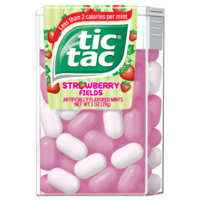 Tic Tac Strawberry Fields Singles 12 Count