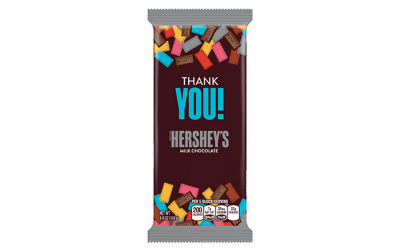 HERSHEY'S Milk Chocolate Appreciation XL Bars 4.4oz 12 Count