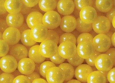 Yellow Shimmer Gumballs 2lb