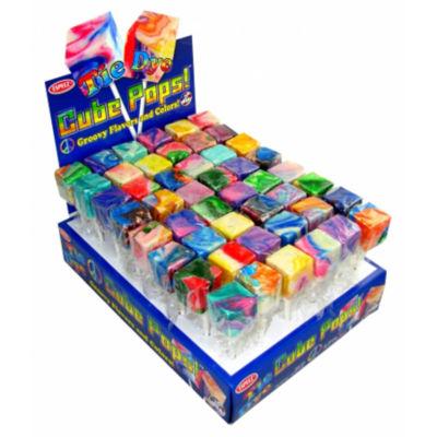 Tie Dye Cube Pops 48 Count