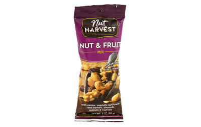Nut Harvest Nut & Fruit Mix 3oz 8 Pack