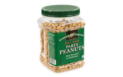 Superior Nut Fancy Salted Party Peanuts 32oz