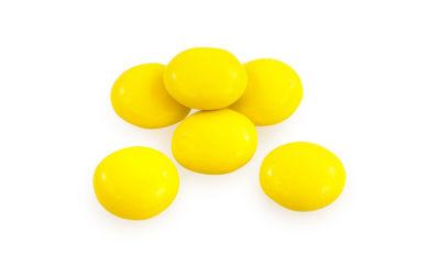 Yellow Milk Chocolate Gems 5lb