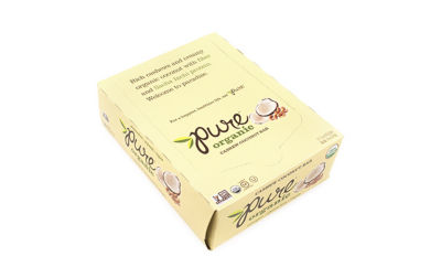 Pure Organic Cashew Coconut Bar 1.5oz 12 Count