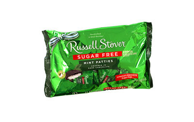 Russell Stover SugarFree Mint Patties 10 OZ 2 Pack