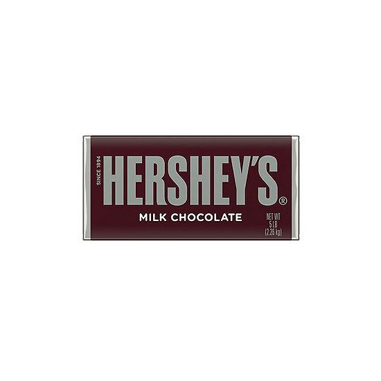 HERSHEY'S Milk Chocolate Bar 5lb