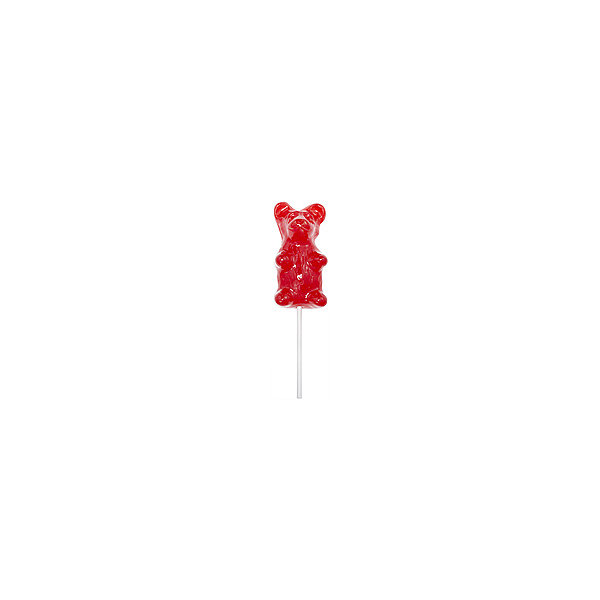 Giant Gummy Bear on a Stick Cherry 1 Count