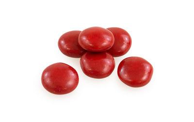 Red Milk Chocolate Gems 5lb