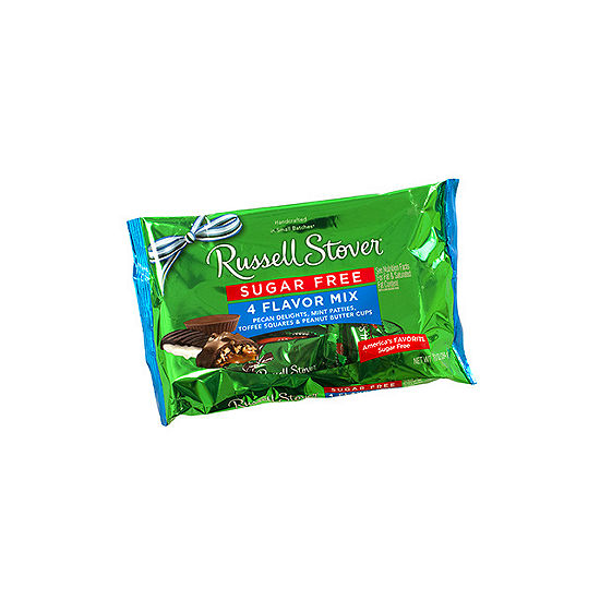 Russell Stover Sugar Free 4 Flavor Mix 10oz 2 Pack