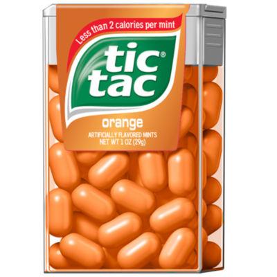 Tic Tac Orange Singles 12 Count