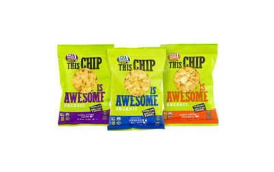 This Chip Is Awesome Organic Popcorn Chips VarietyPack 1oz 24 Count