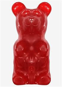 World's Largest Gummy Bear Cherry Red 5lbs