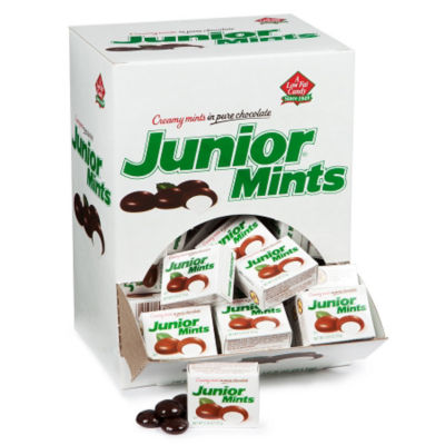 Junior Mints Mini Snack Packs 72 Count