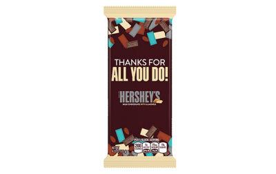 Hershey's Milk Chocolate with Almonds Appreciation XL Bars 4.25oz 12 Count