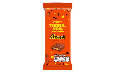REESE'S Peanut Butter Appreciation XL Bars 4.25oz 12 Count