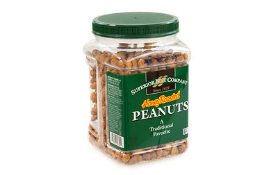 Superior Nut Honey Roasted Peanuts 32oz