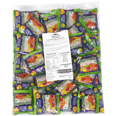 Organic Fruit Snacks Snack Packs 50 Count
