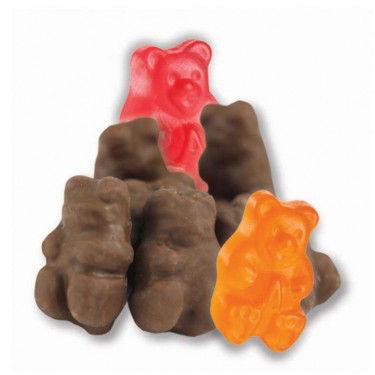 Milk Chocolate Covered Gummi Bears 2.5lb